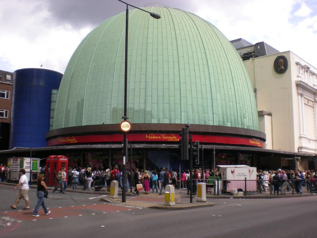 Madame Tussaud Museum in London
